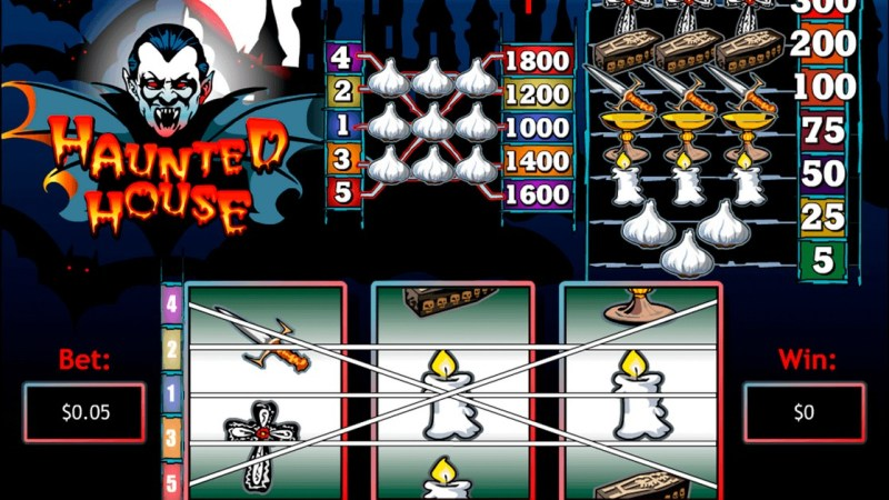 How To Play Haunted House Slot