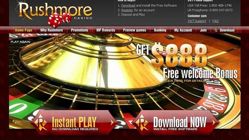 Rushmore Casino Review and Bonuses