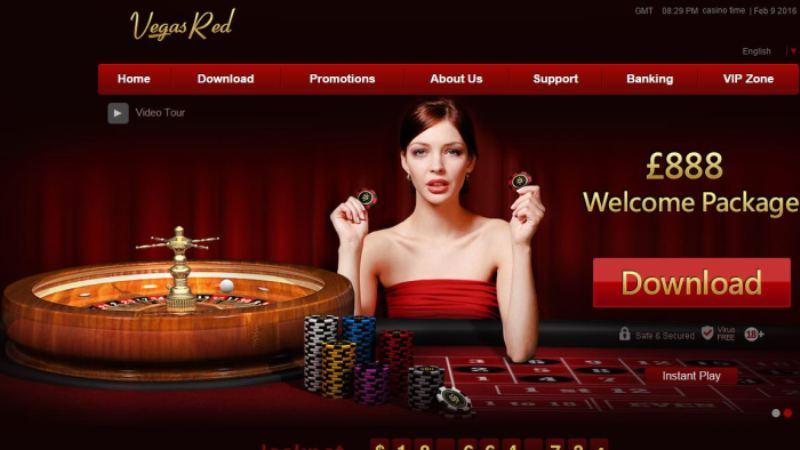 Vegas Red Casino Review and Bonuses